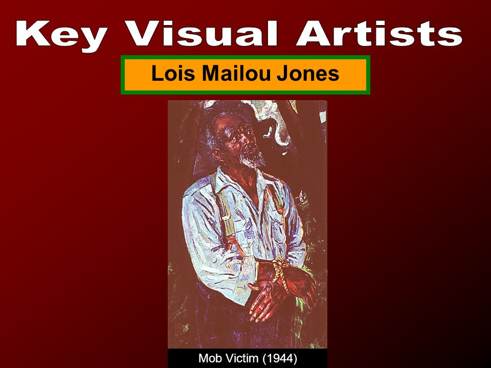 Mob Victim (1944) Lois Mailou Jones