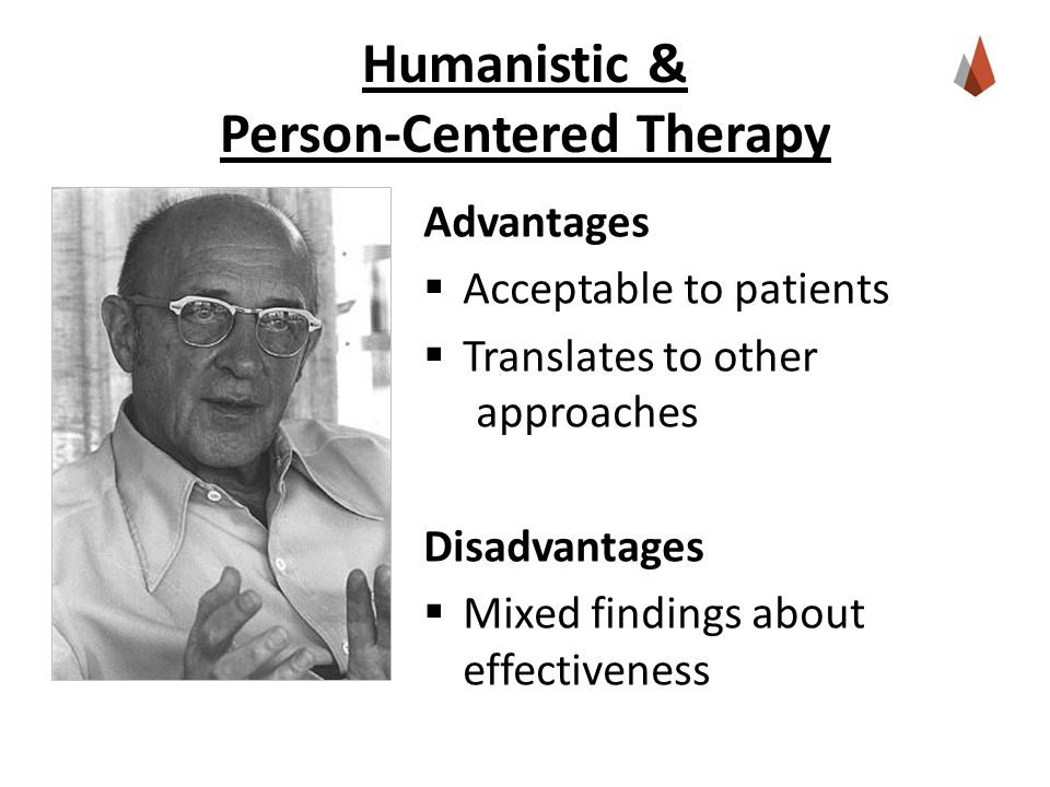 advantages and disadvantages of person centred therapy