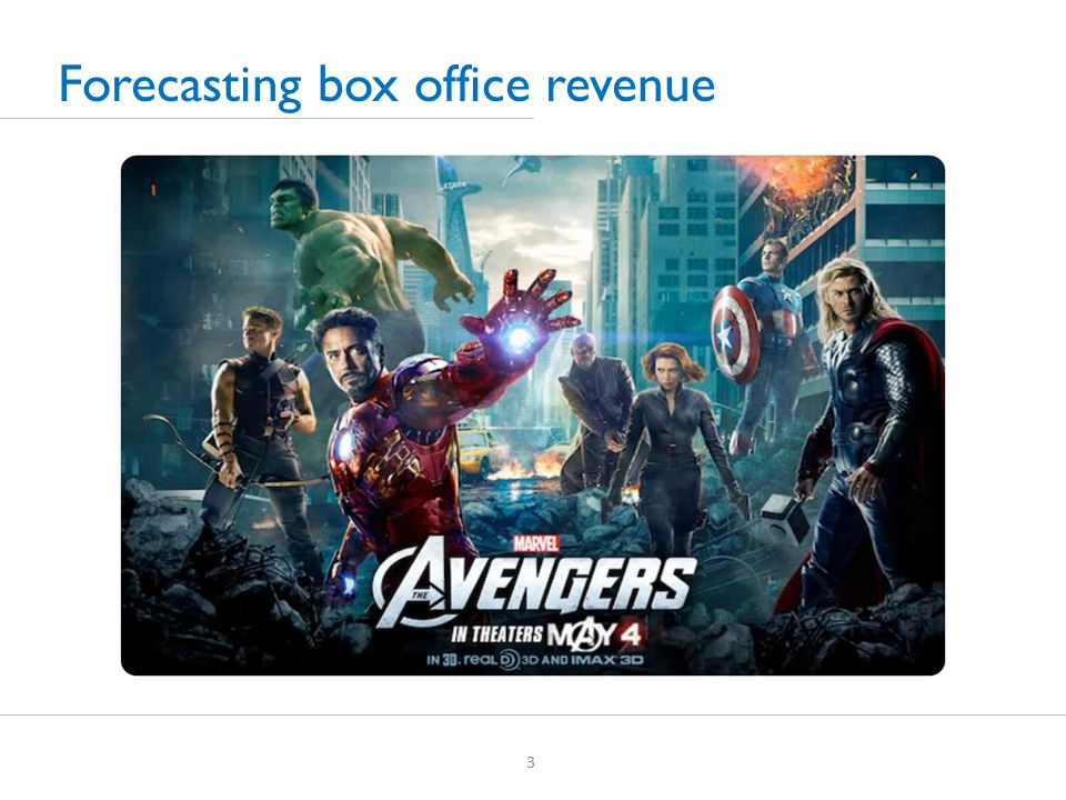 3 Forecasting box office revenue
