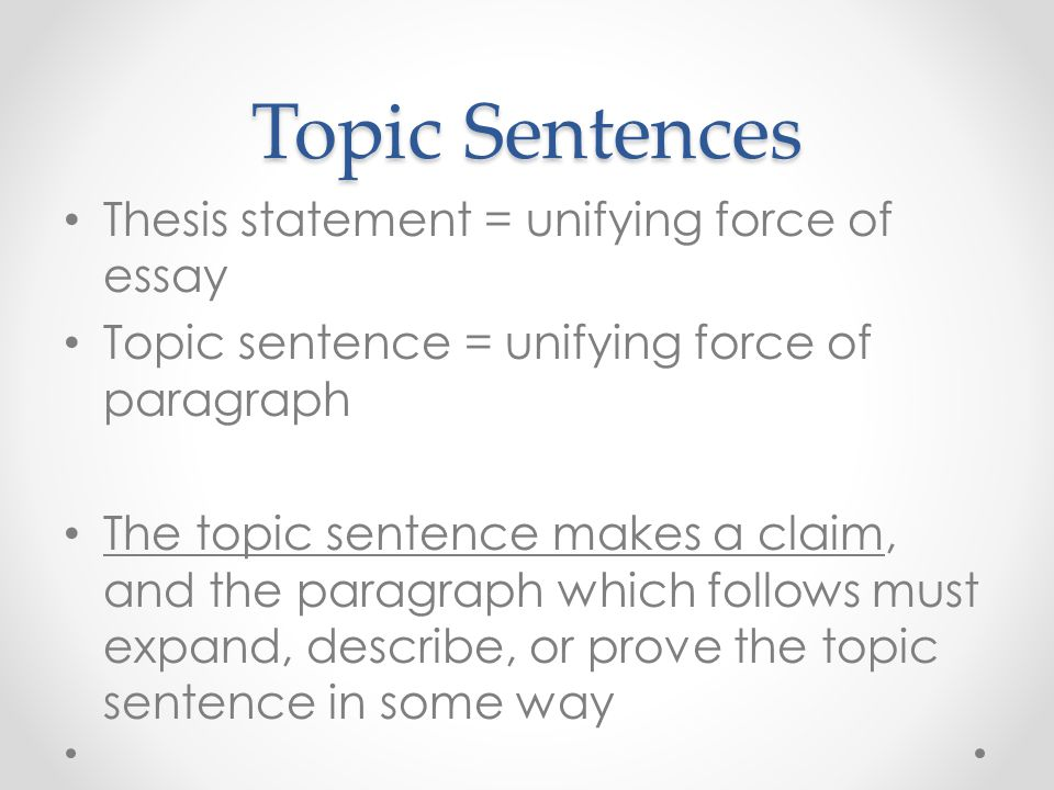 help writing thesis sentence Sorry, i don't know the story a thesis sentence, however, does not need title and author it is a short statement of what you intend to talk about in your essay.