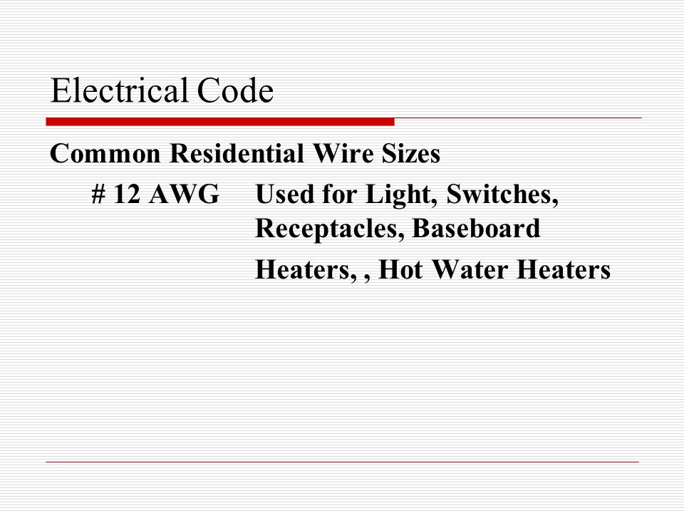 Skilled Trades 1201 Provincial Electrical Code. Electrical Code Wire ...