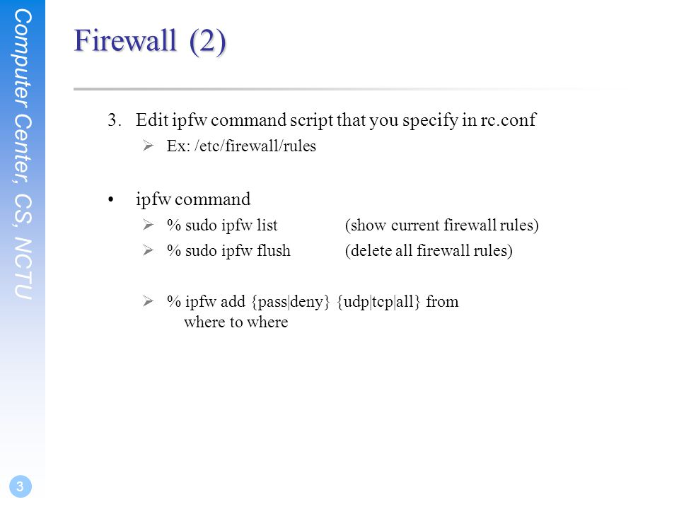 Ipfw Nat Example