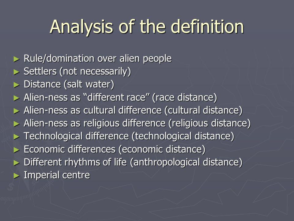 cultural distance definition