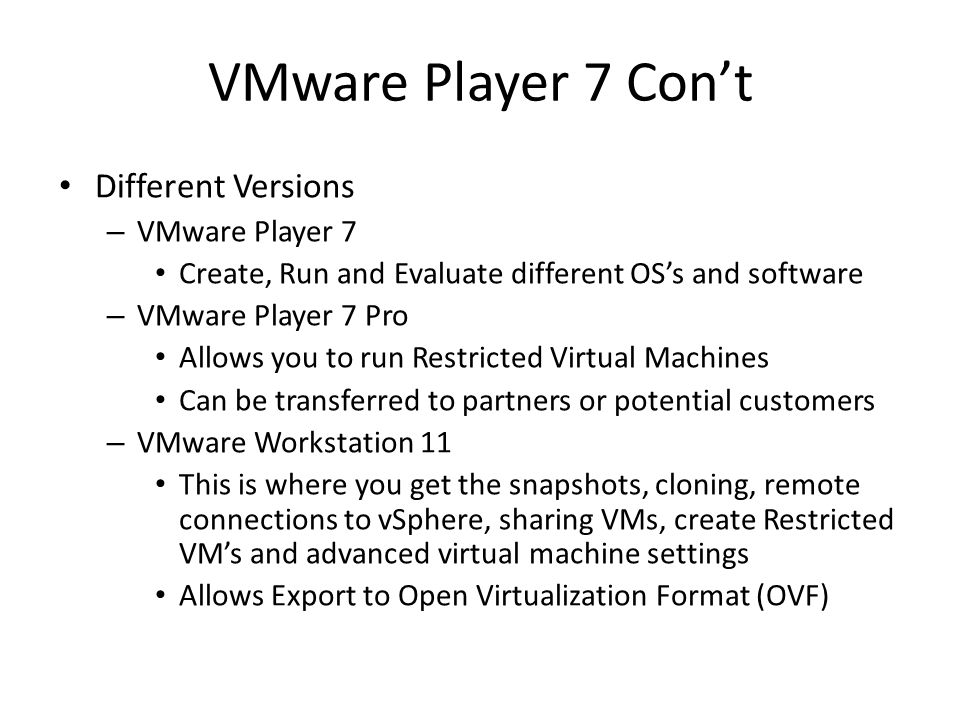 Virtualization on your Desktop Presented by: Terry Edwards