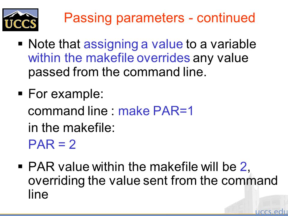 Makefile append variable command line