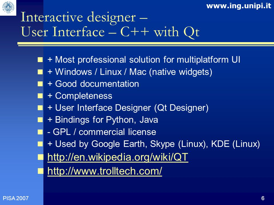 Open Microelectronics architecture considerations Marek