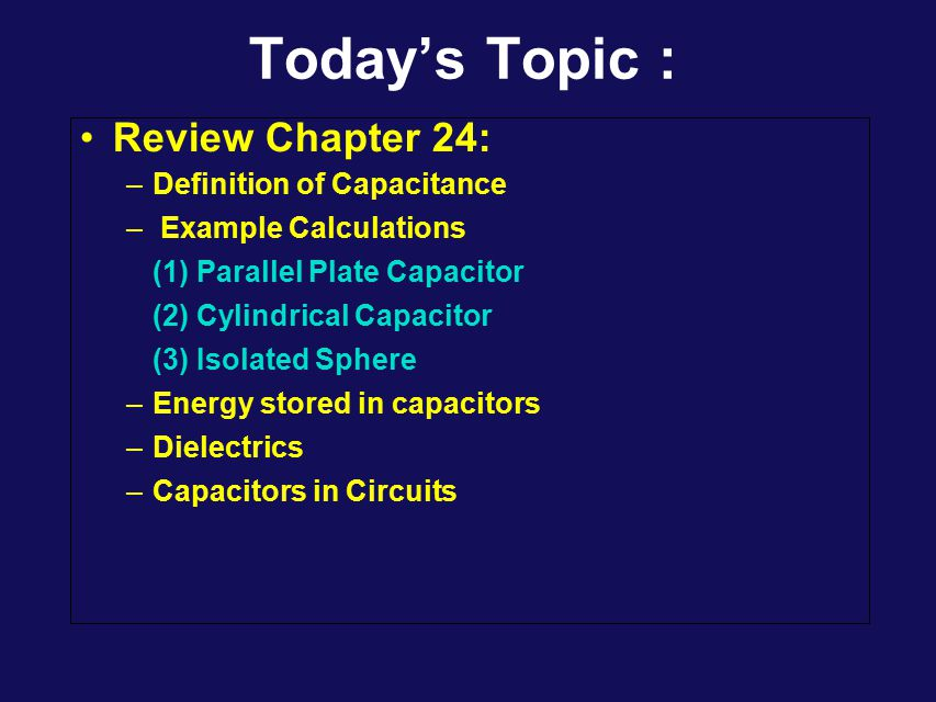 Physics 1402: Lecture 8 Today's Agenda Announcements: –Lectures posted on:     –HW assignments, solutions etc.