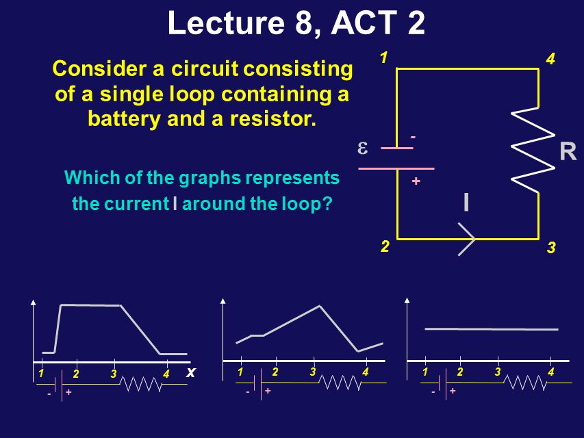 Current Idea l Current is the flow of charged particles through a path, at circuit.