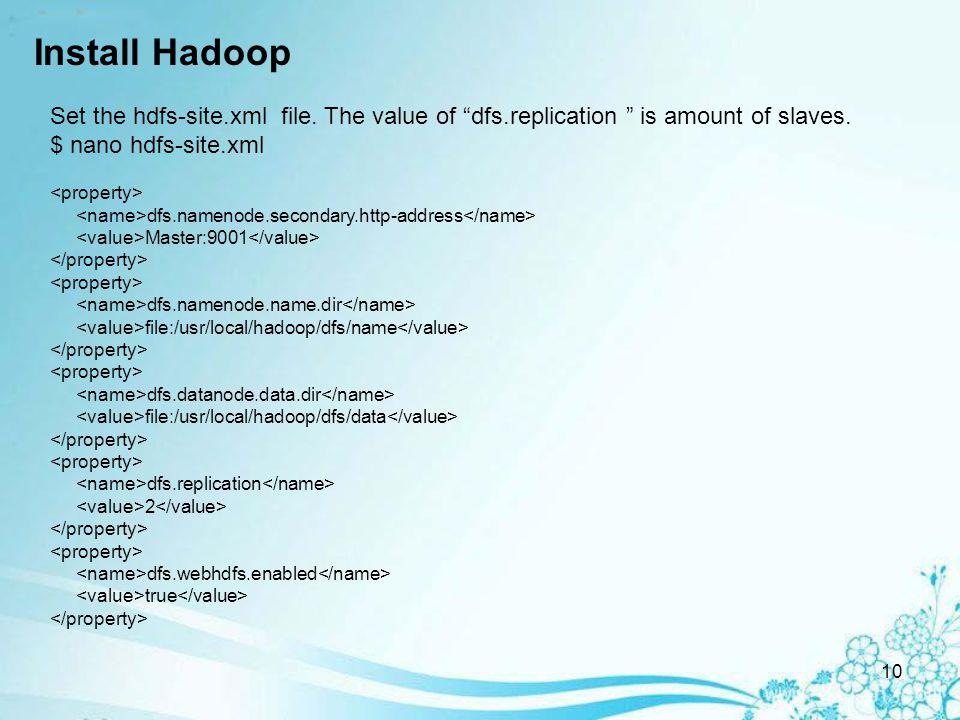 1 Hadoop HDFS Install Hadoop HDFS with Ubuntu ppt download