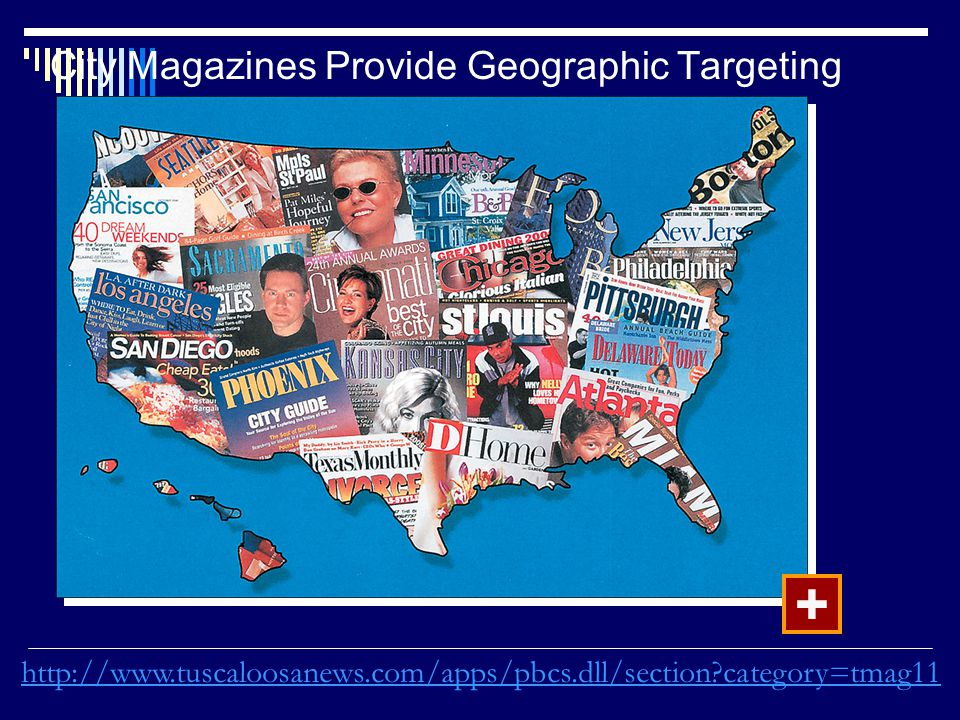 City Magazines Provide Geographic Targeting +   category=tmag11
