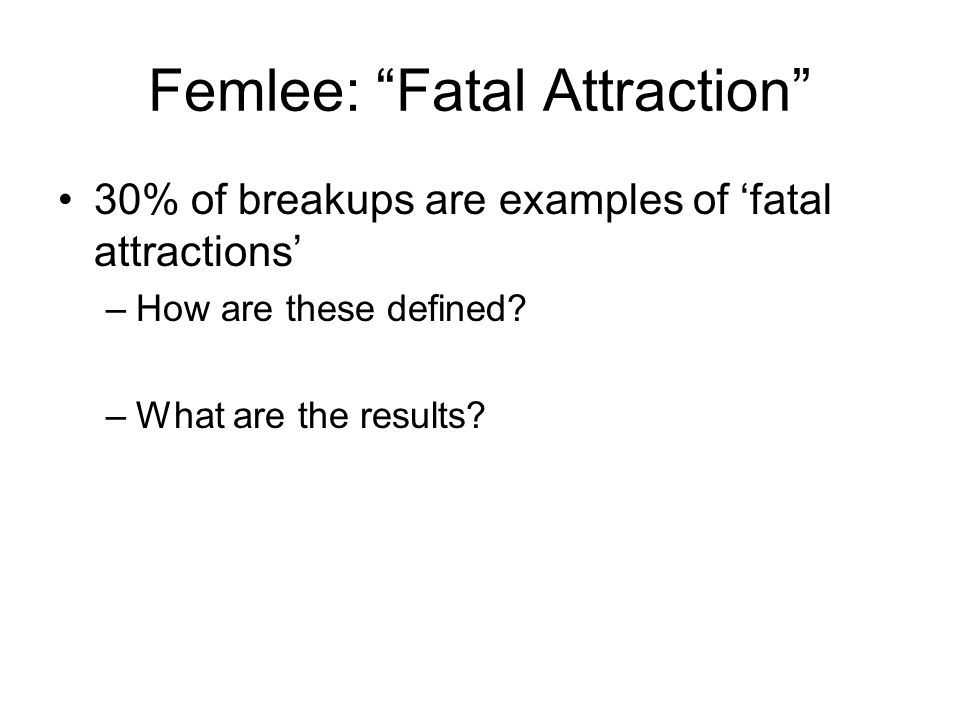 fatal attraction definition