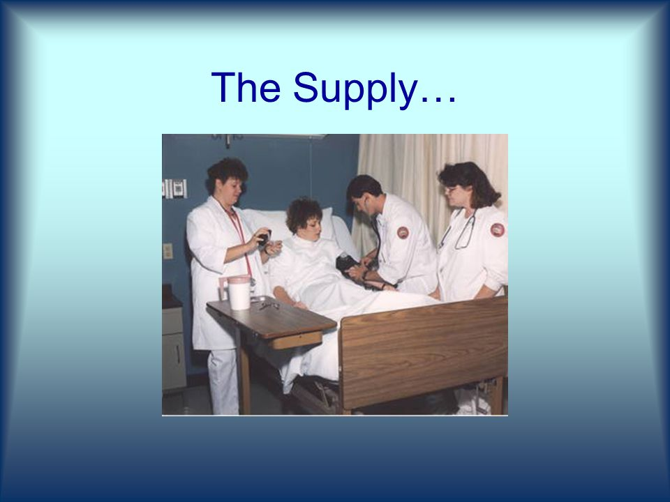 The Supply…