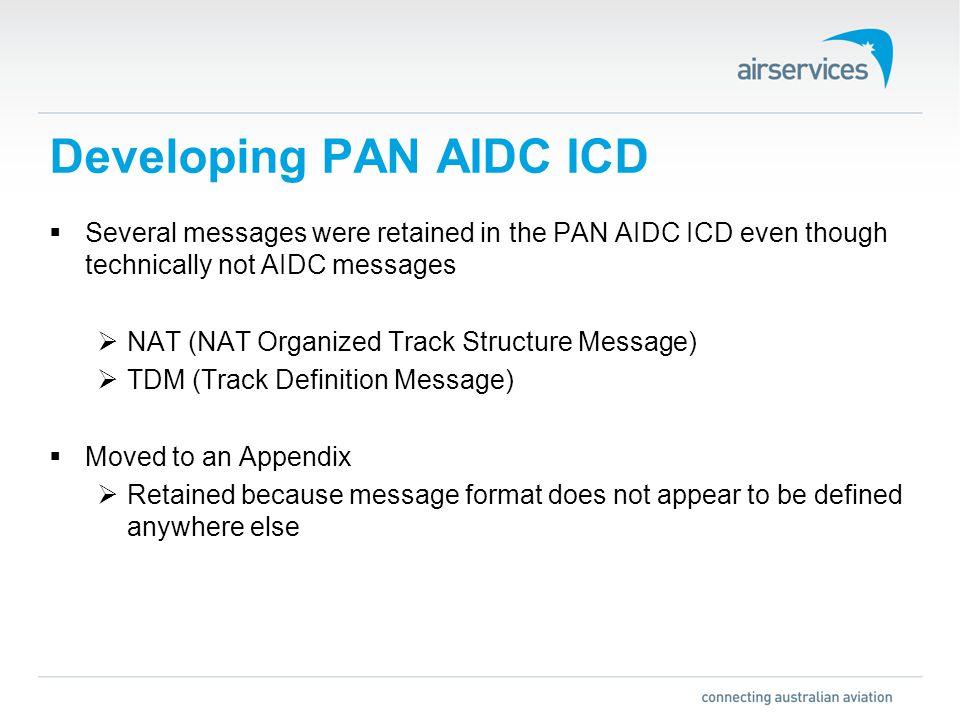 Global) PAN AIDC ICD AIDC Implementation Seminar 28 th – 31 st