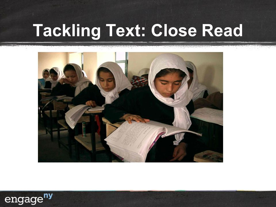 Tackling Text: Close Read