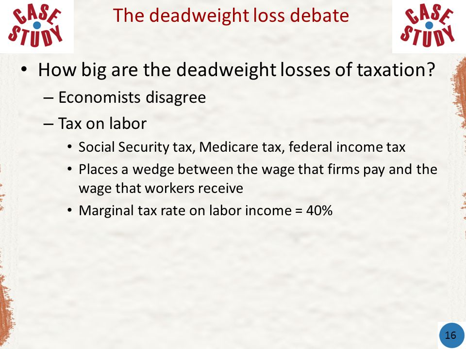 How big are the deadweight losses of taxation.