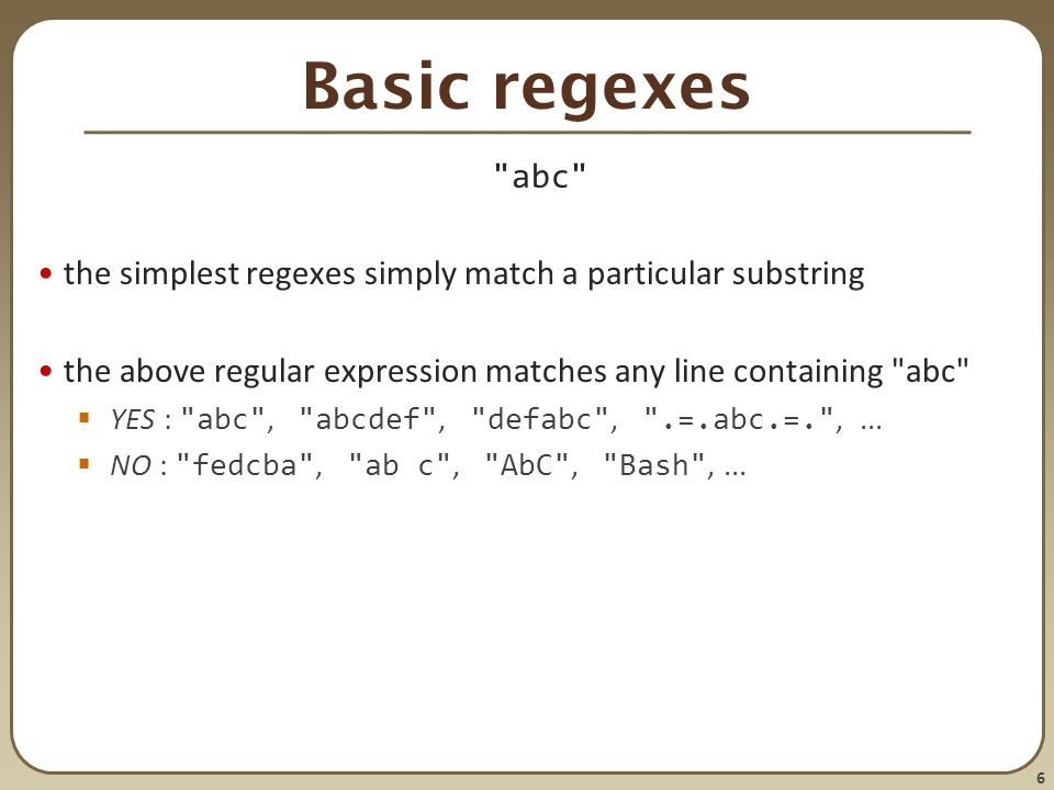 1 CSE 303 Lecture 7 Regular expressions, egrep, and sed read Linux
