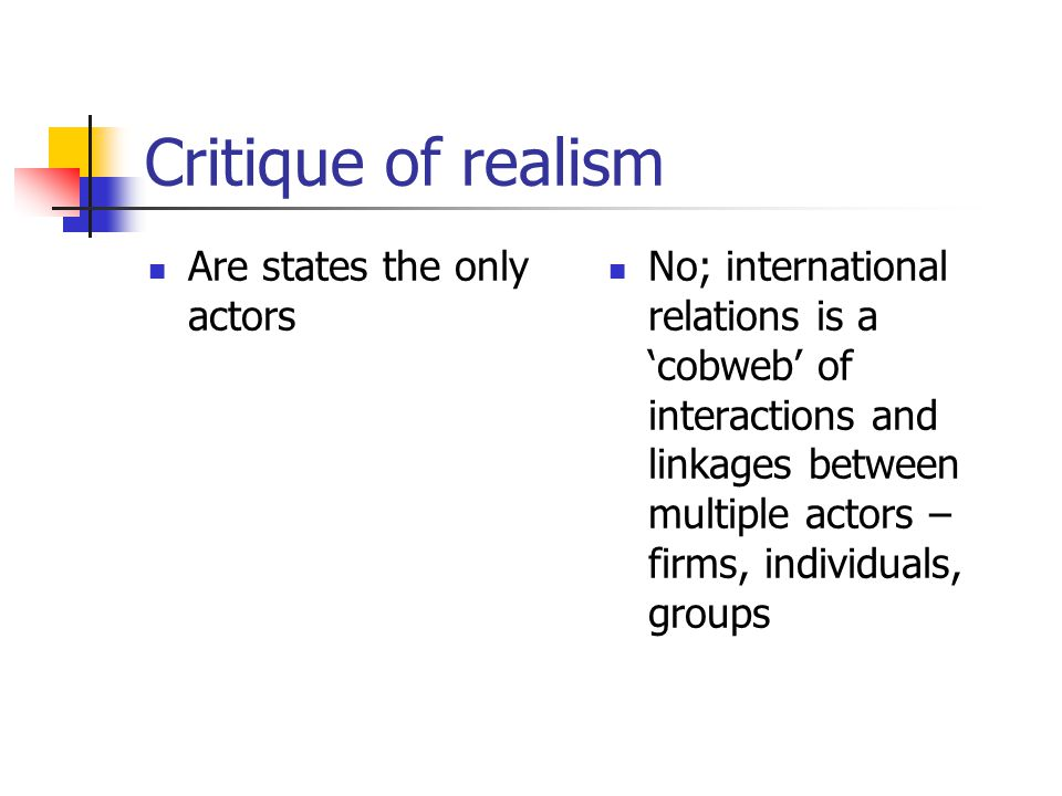 what are actors in international relations
