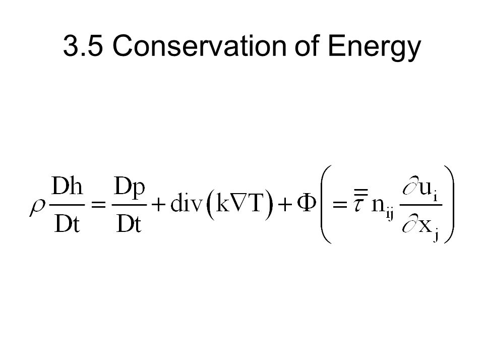 3.5 Conservation of Energy