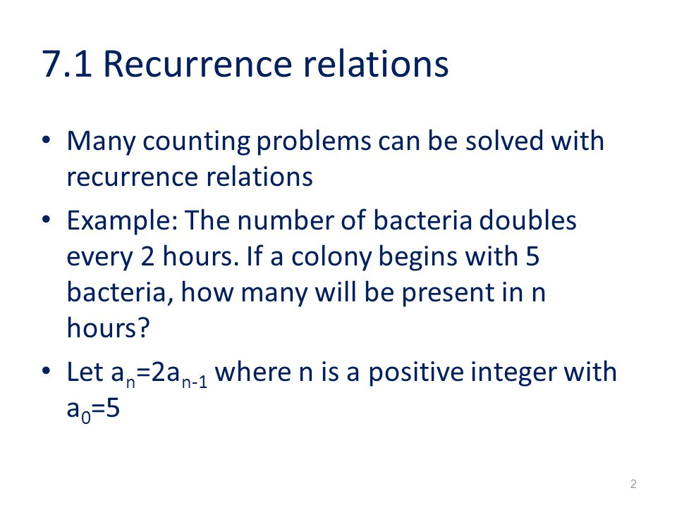 Recurrence relations discrete math structures 11 youtube.