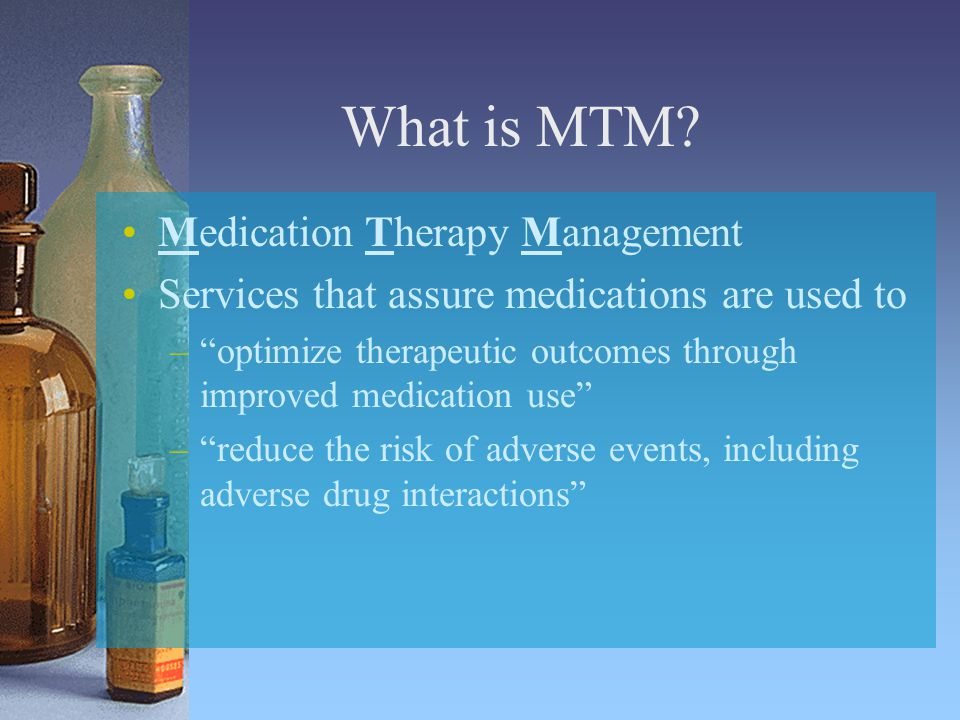 What is MTM.