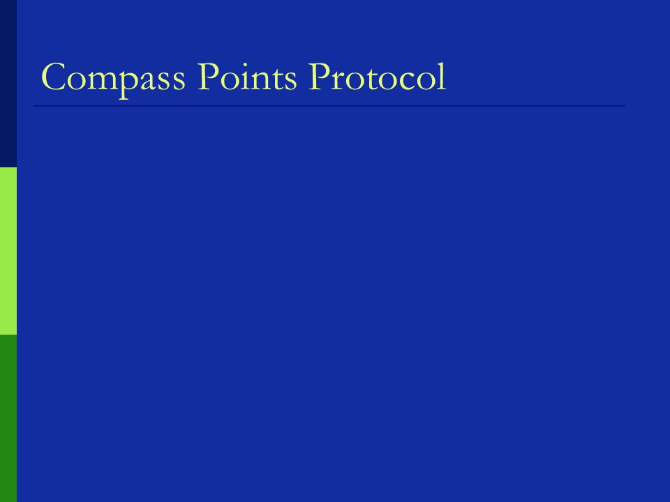 Compass Points Protocol