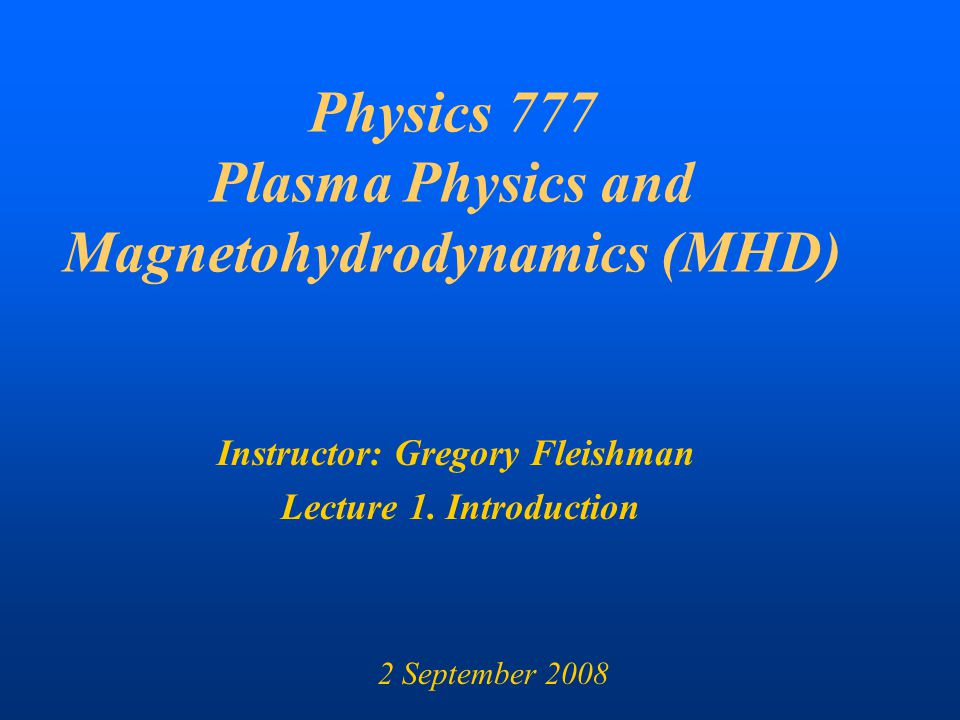 research papers on plasma physics Journal of plasma physics - professor bill dorland, professor alex schekochihin jpp aspires to be the intellectual home of those who think of plasma physics as a fundamental discipline the journal will particularly focus on publishing research on laboratory plasmas (including magnetically confined and.