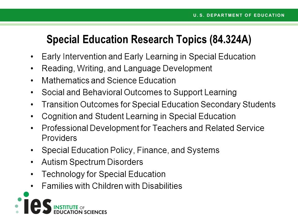 educational research paper topics