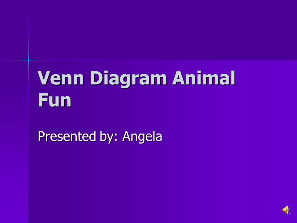 Venn Diagram Animal Fun Presented By Angela Compare And Contrast