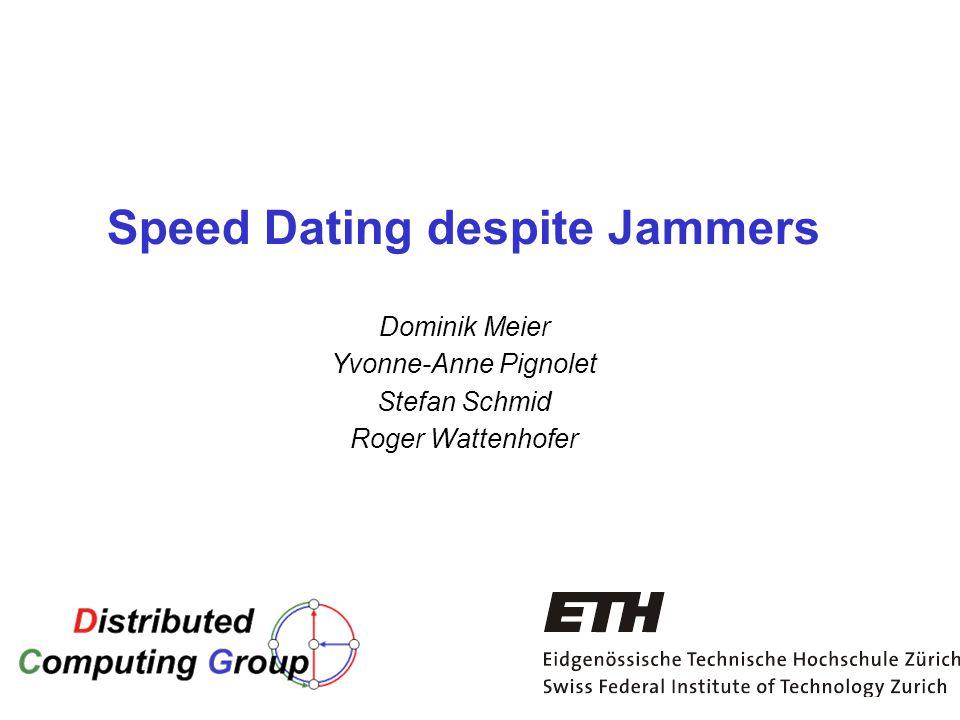 Speed Dating Zürich ETH Dating uw secretaresse