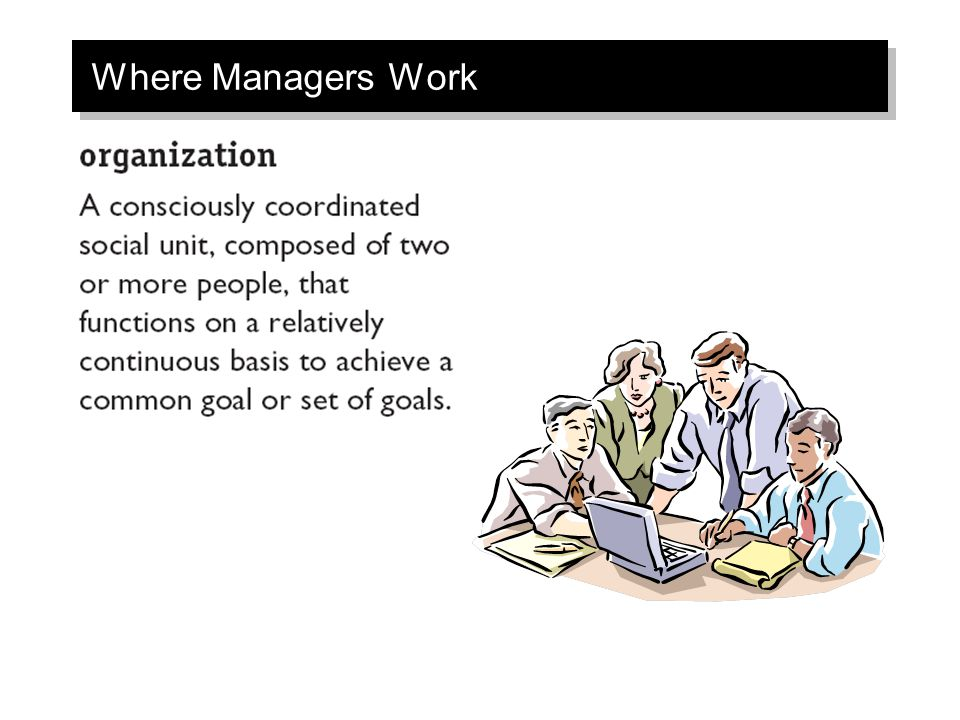 Where Managers Work