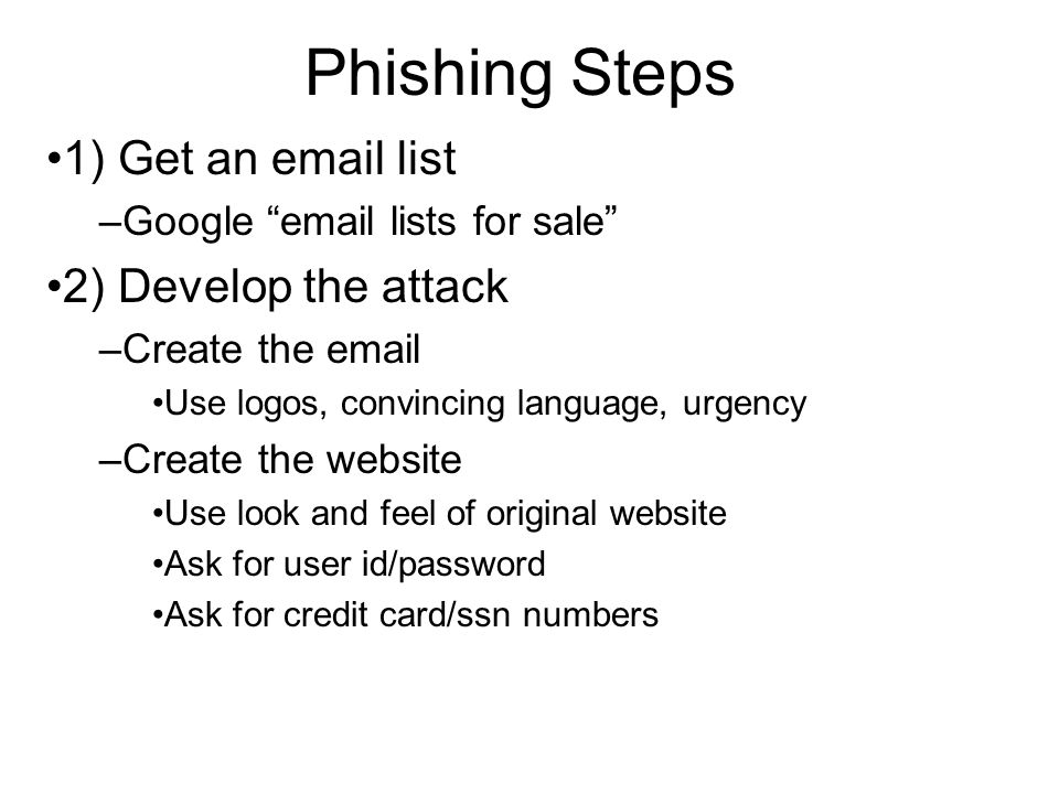 Phishing Definition: a criminal mechanism employing both