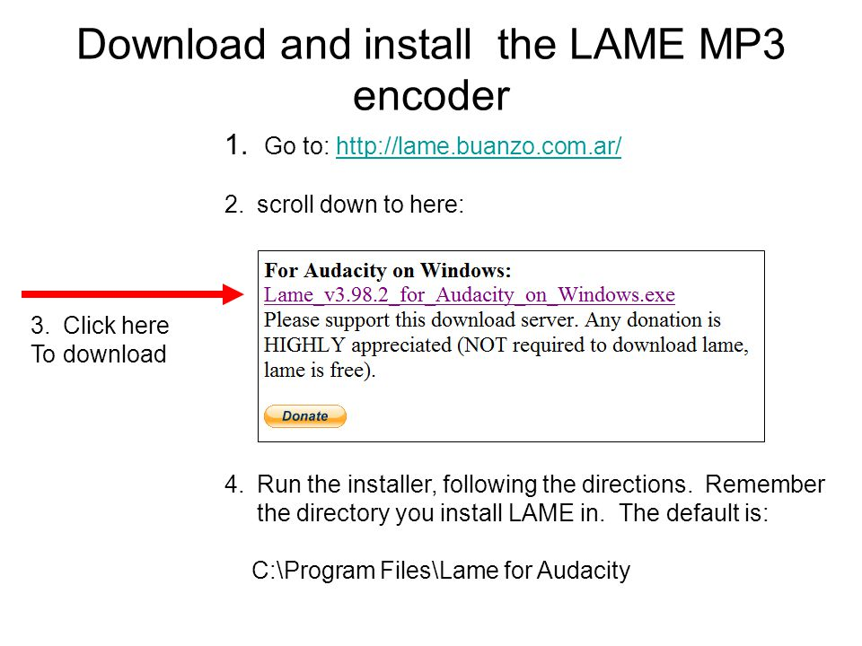 lame_enc.dll for audacity free download
