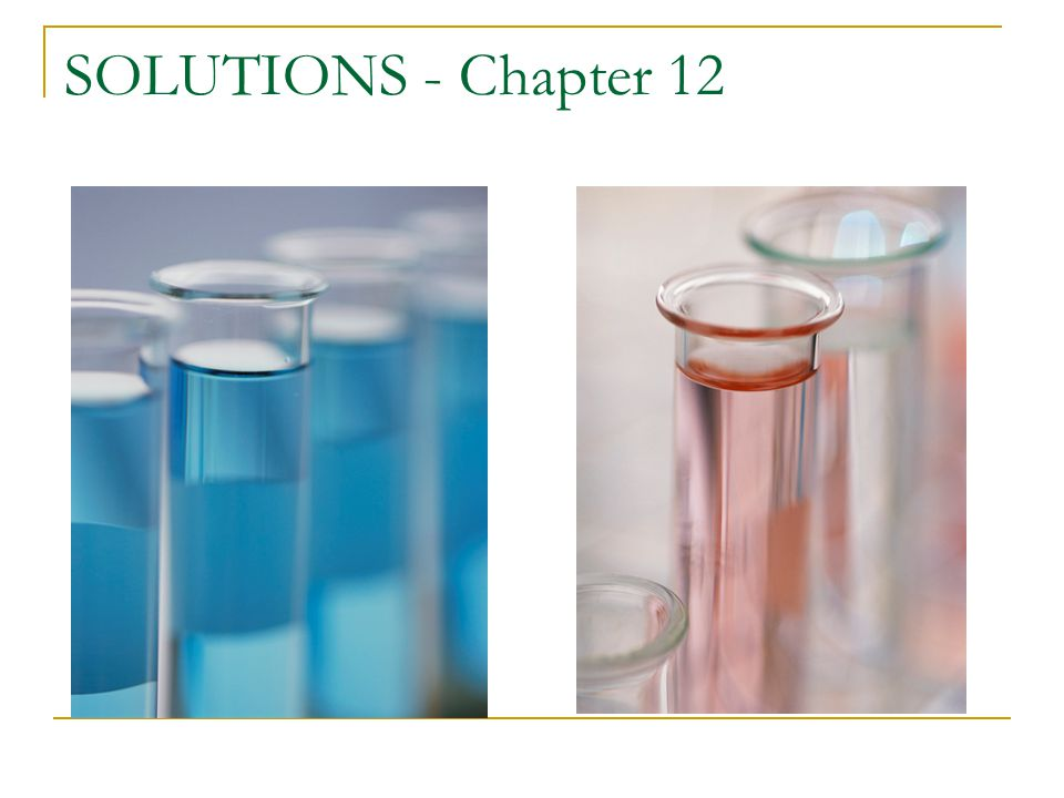 SOLUTIONS - Chapter 12