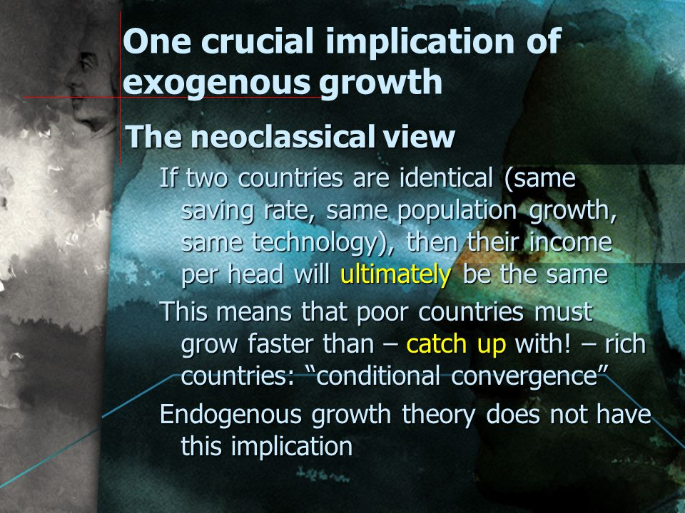Exogenous vs.