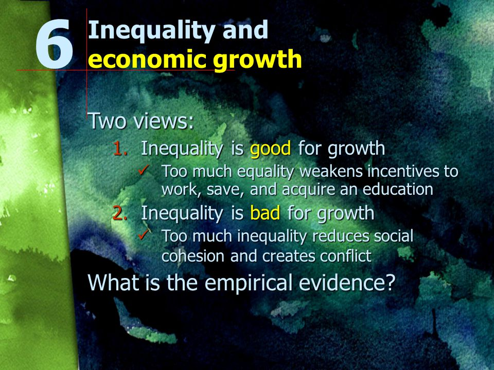 Natural capital and economic growth What is the empirical evidence.