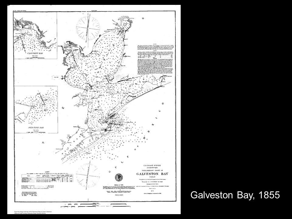 Galveston Bay, 1855