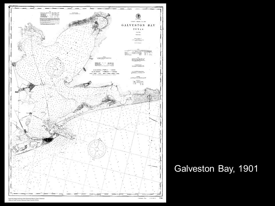 Galveston Bay, 1901