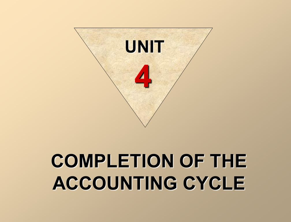 completion of the accounting cycle unit 4 illustration 4 10