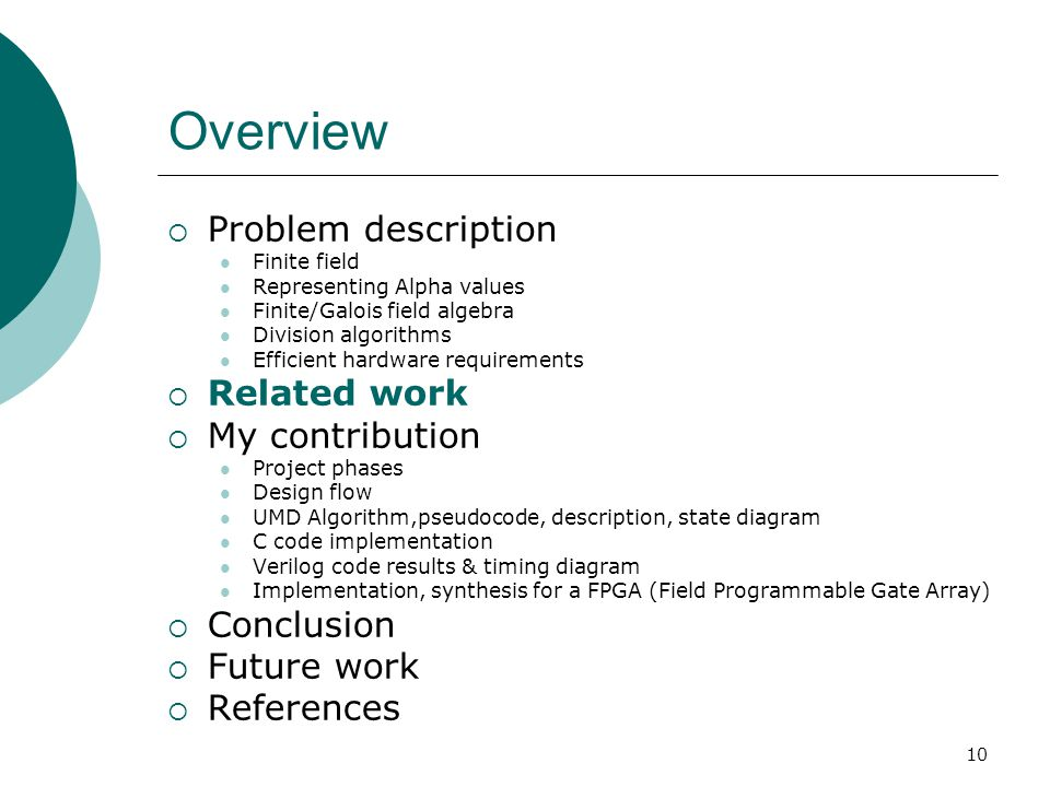 FPGA based implementation of divider in Finite field Final