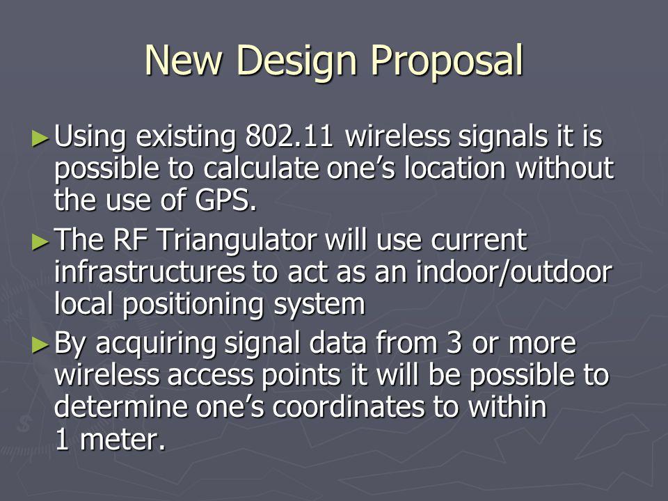 RF Triangulator: Indoor/Outdoor Location Finding Architecture