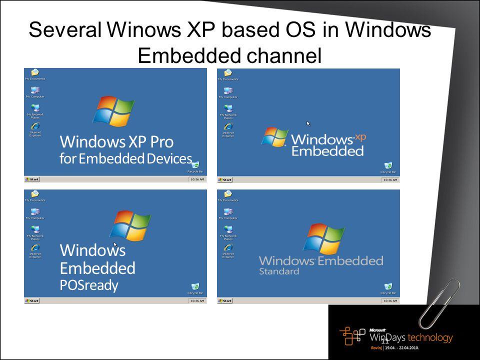 Imágenes de Microsoft Windows Embedded Standard 7 End Of Life