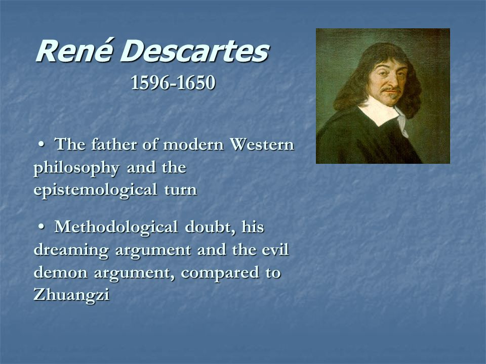 descartes epistemology sparknotes