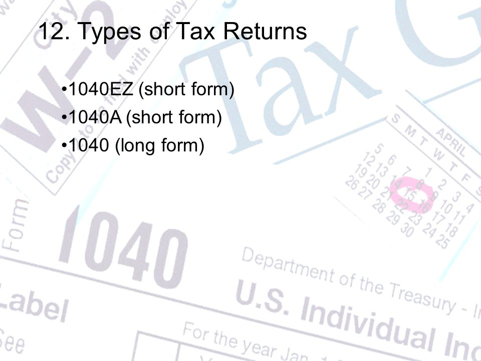 Federal Income Tax Personal Finance 1 The Irs Internal Revenue