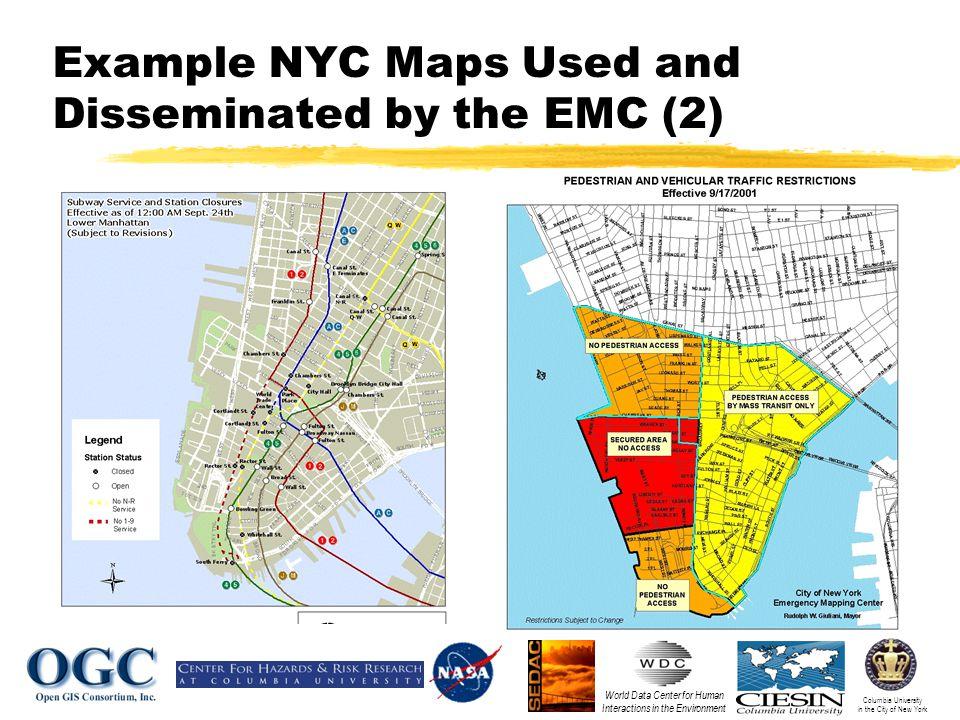 Columbia University in the City of New York World Data Center for