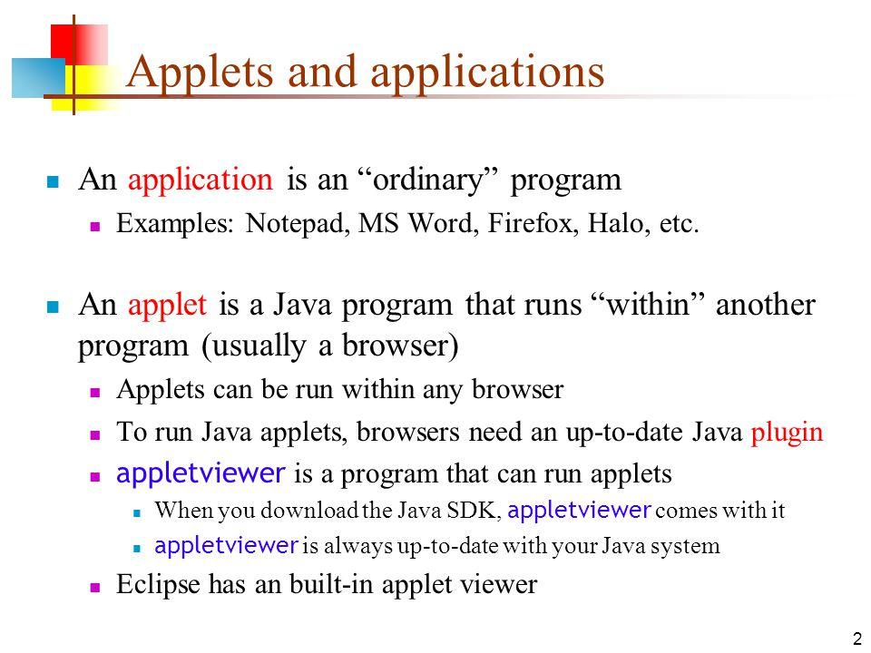 appletviewer download