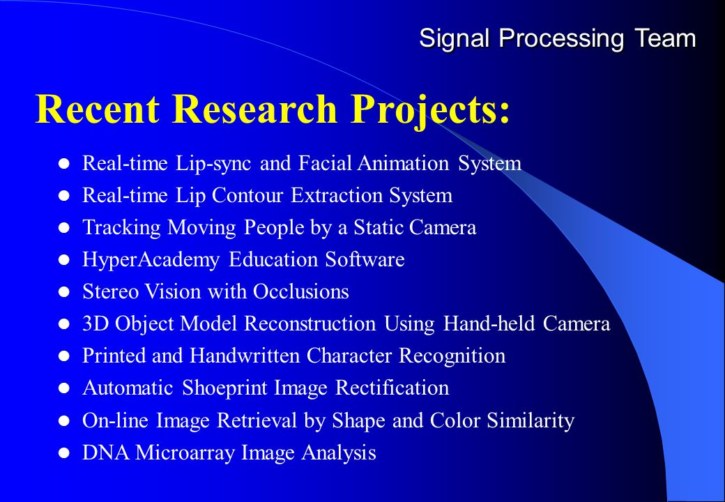HKIE Accreditation Visit Welcome to Signal Processing Lab