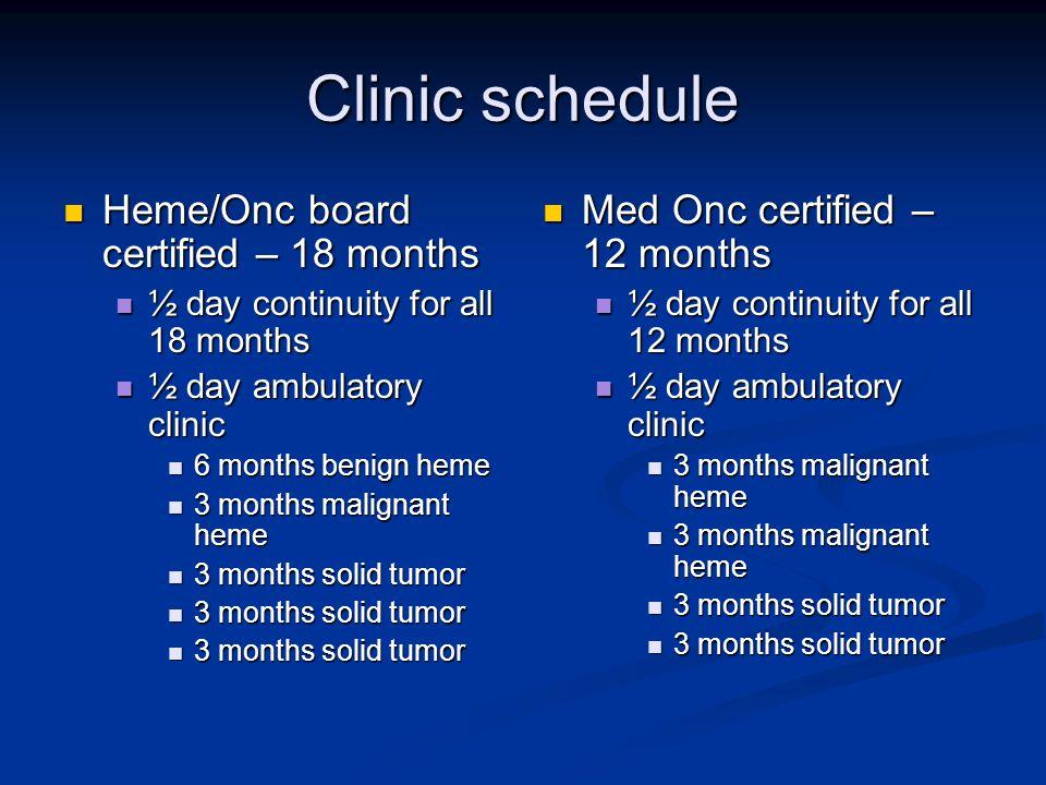 Hematology/Oncology Fellowship Kristie A  Blum, M D  Gregory