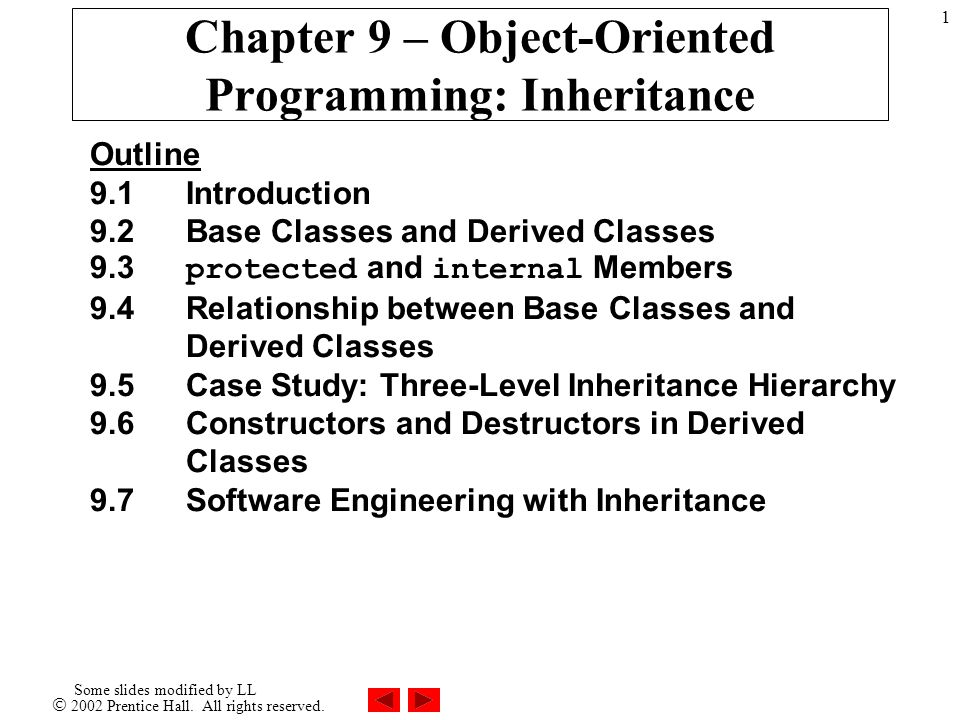 2002 Prentice Hall  All rights reserved  Some slides