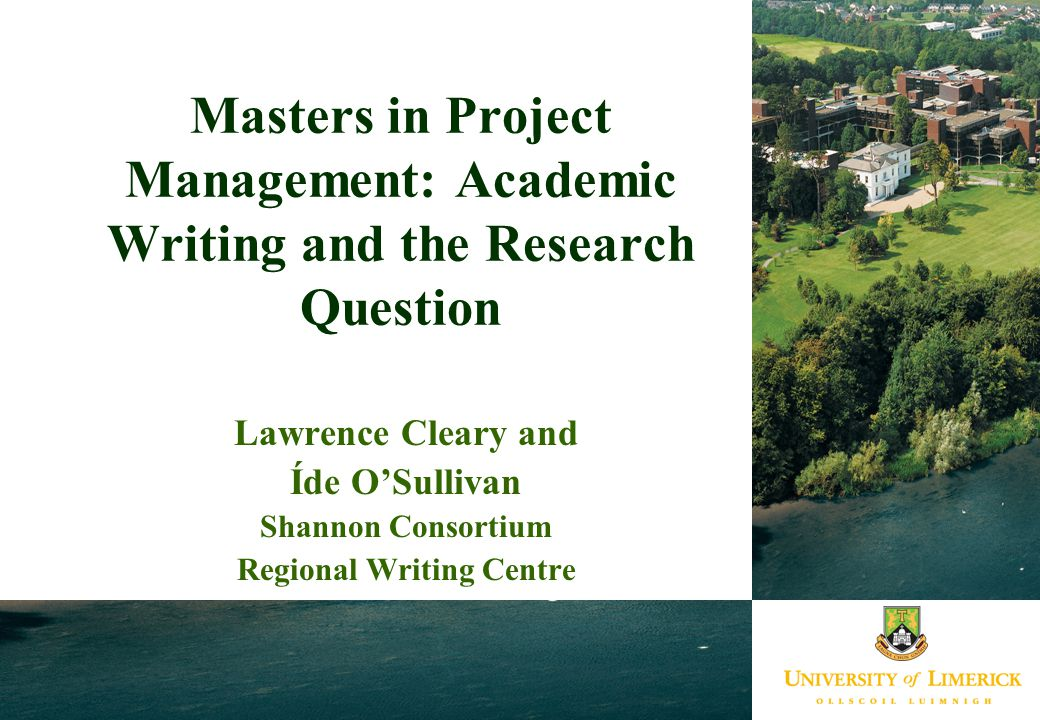 project management research questions