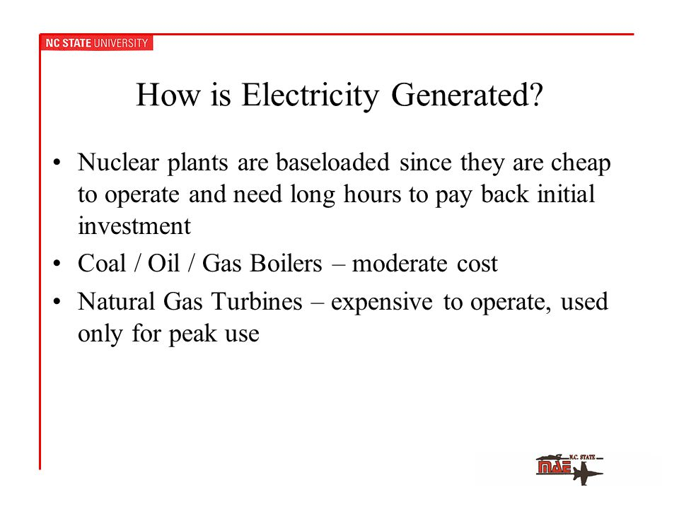 How is Electricity Generated.